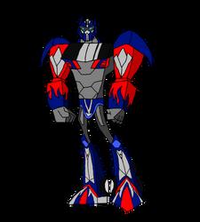 AOE/TLA Optimus prime in the TFA style