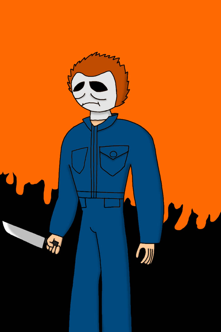 Micheal Myers in my style by Badrater