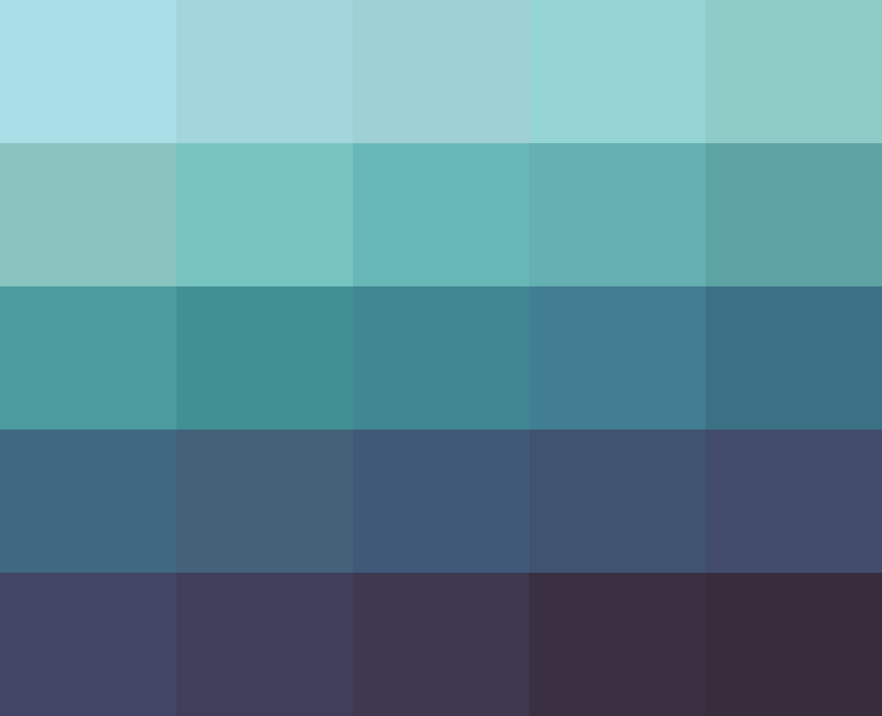 Sea Green Blue Paint