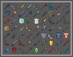 [32x32] Weapons Update by Admurin