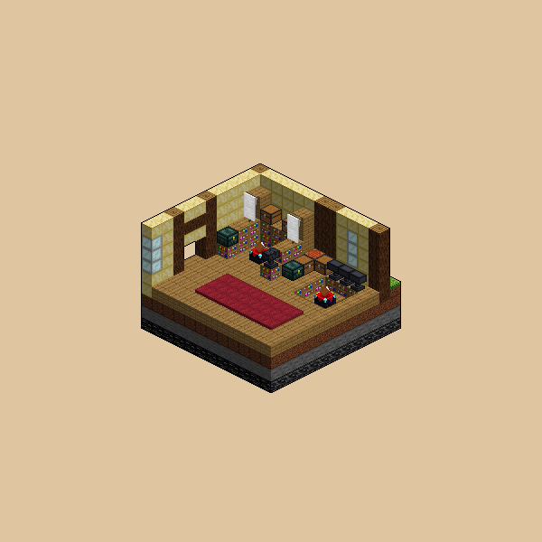 Library - Isometric Environment