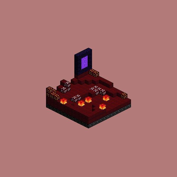 Hell - Isometric Environment