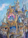 Distorted Cinderella Castle