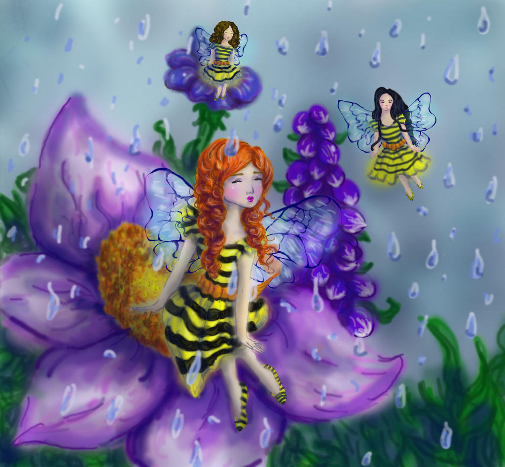 Bees Singing in the RainUCBUGG Visual Assignment by