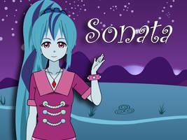 Sonata Dusk Dazzlings - My my little pony kisekae by H-a-g-a-n-e