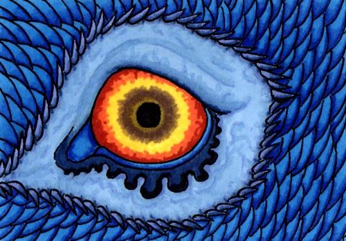 Day 16- Dragon Eye by OrcaTeeth