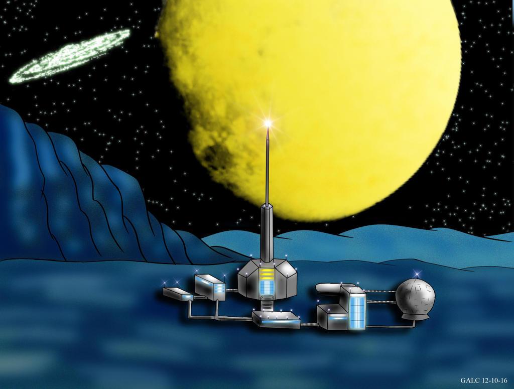 Base espacial by kigiemoru