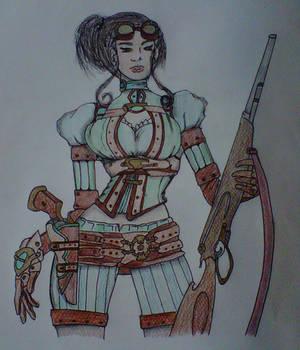 Lady Mechanika by crochetamommy
