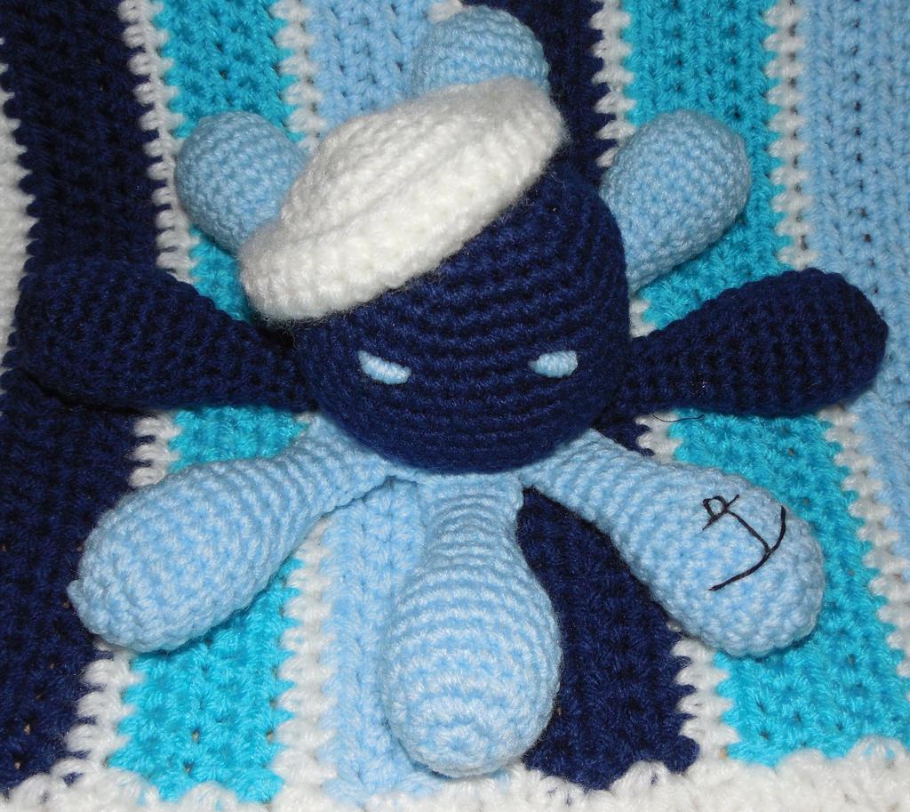 Sailor Octopus by crochetamommy