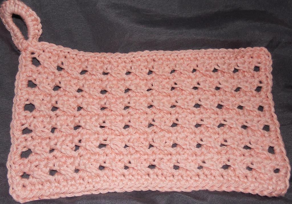 Dishcloth Test by crochetamommy on DeviantArt