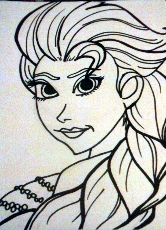 Snow Queen Elsa by crochetamommy