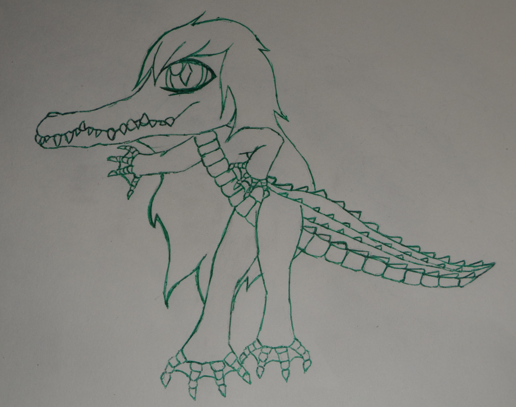 Croc Girl Preview by crochetamommy