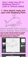 Tutorial for Line Art in Medibang Paint