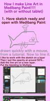 Tutorial for Line Art in Medibang Paint
