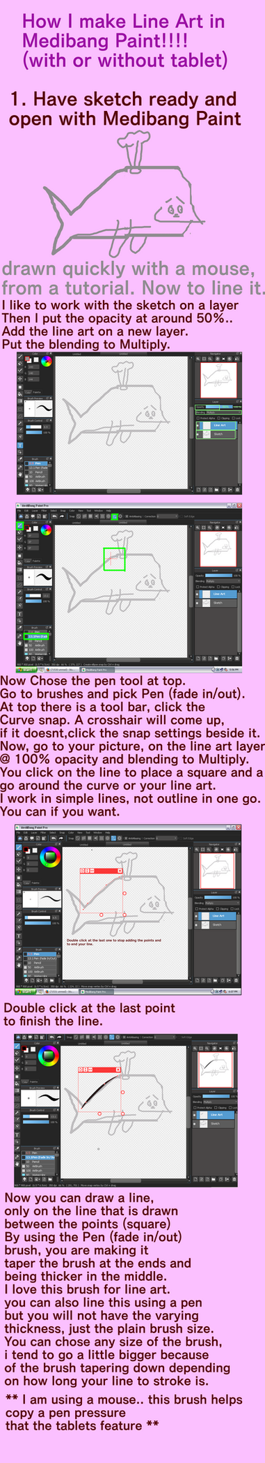 Tutorial for line art in medibang paint by crochetamommy on deviantart tutorial for line art in medibang paint by crochetamommy baditri Gallery