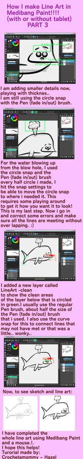 Tutorial for Line Art in Medibang Paint Part 3