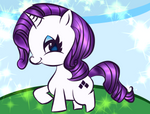 Unicorn Mlp Rarity Colored