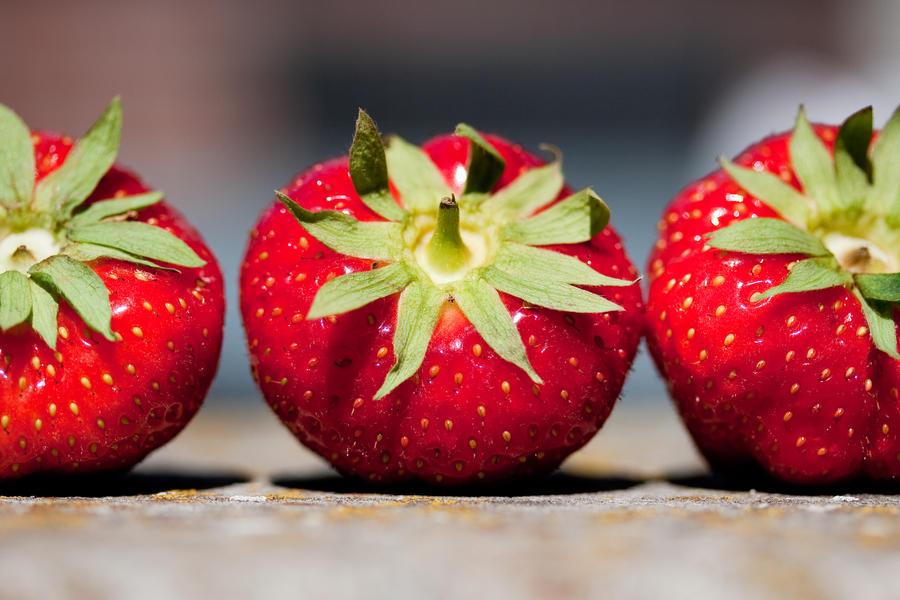 Strawberries by TanteSjaan