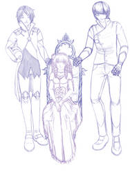 Family Portrait Sketch