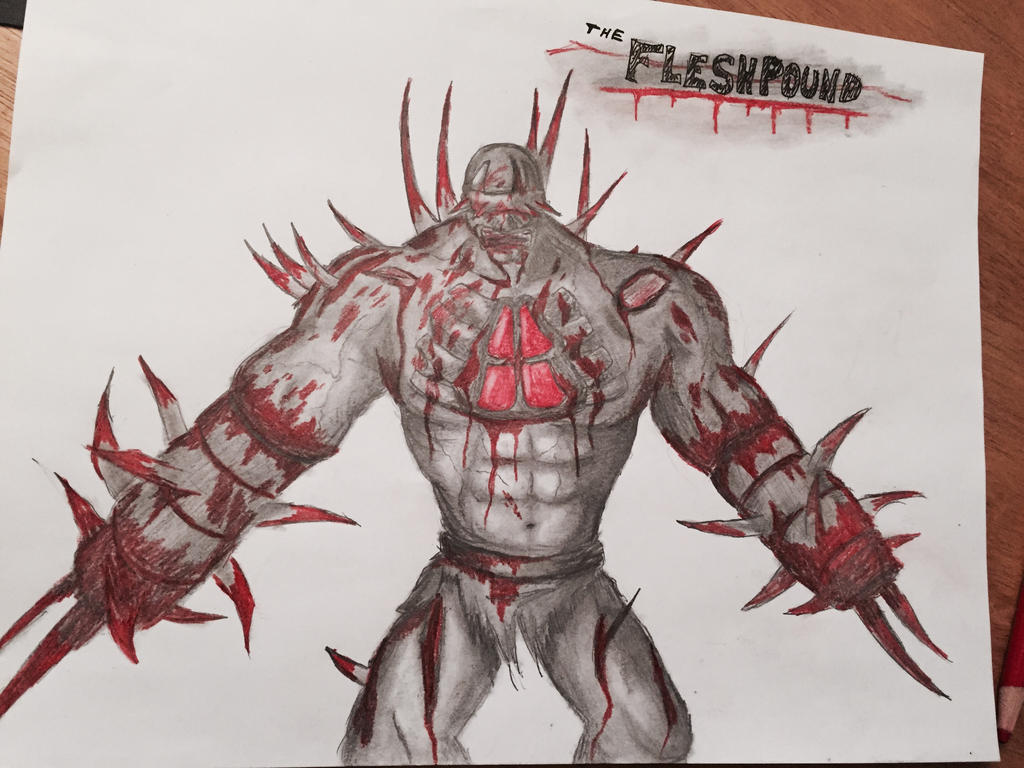 Beautiful Killing Floor 2: FleshPound By SuperFIFIBros ...