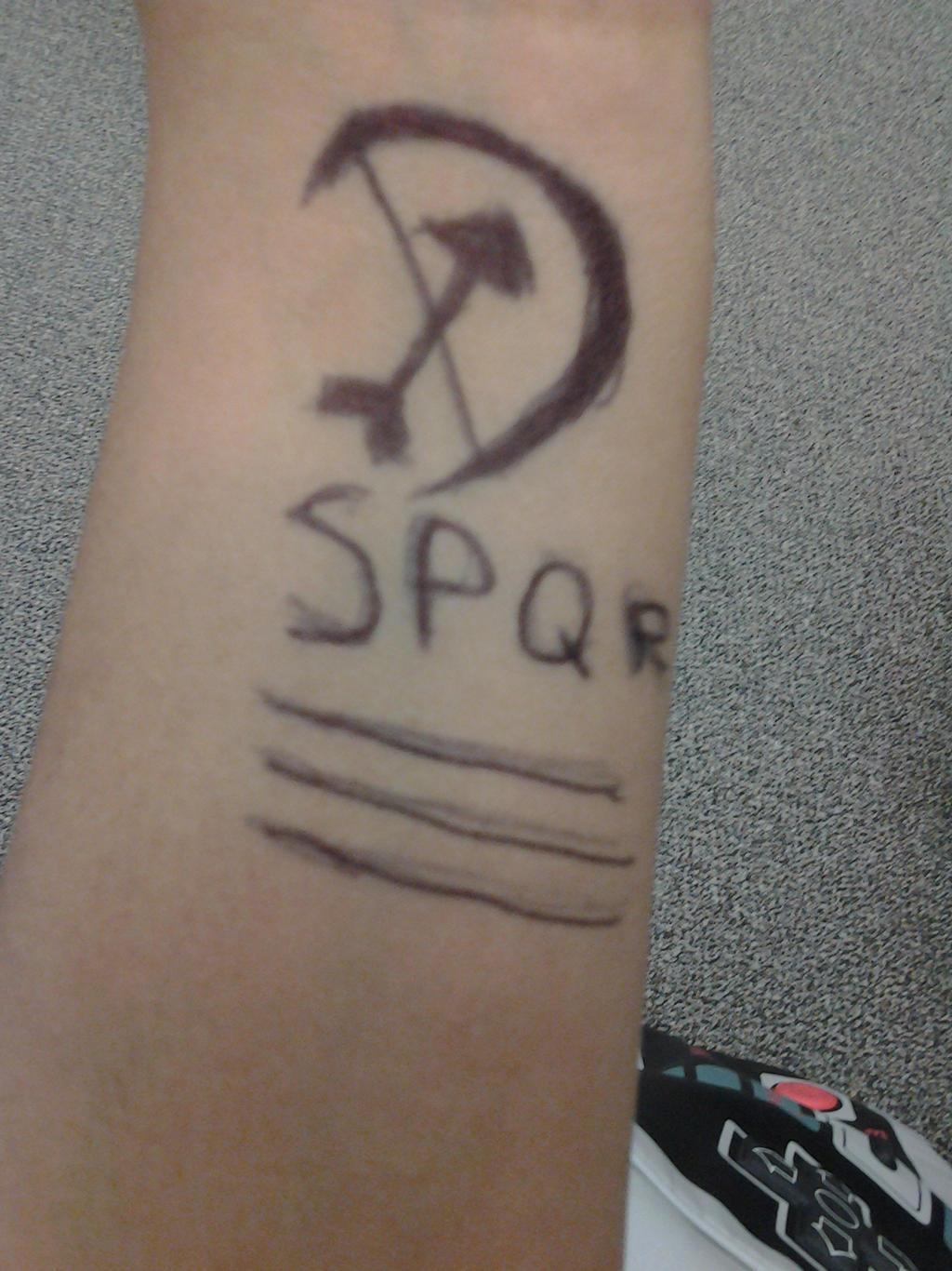 my camp Jupiter tattoo by annabethchas on deviantART
