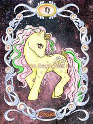 Zodiac Poney: Virgo by WhiteNenufar