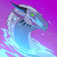 Frosty Kaiju by Azul-Creations