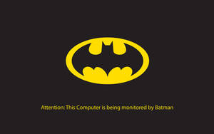 Batman is Watching Wallpaper