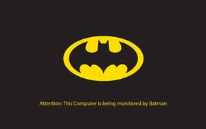 Batman is Watching Wallpaper