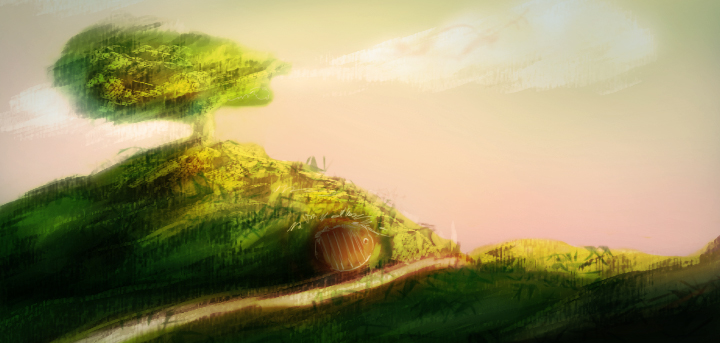 Shire Speedpainting by rogueXunited