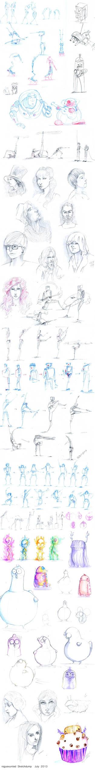 Sketchdump July 2013