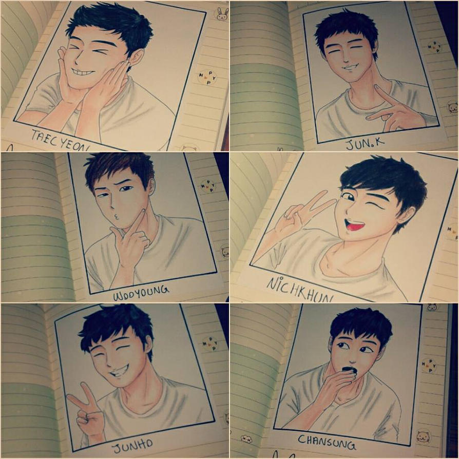Happy 5th Anniversary 2PM! by Vespa-kid