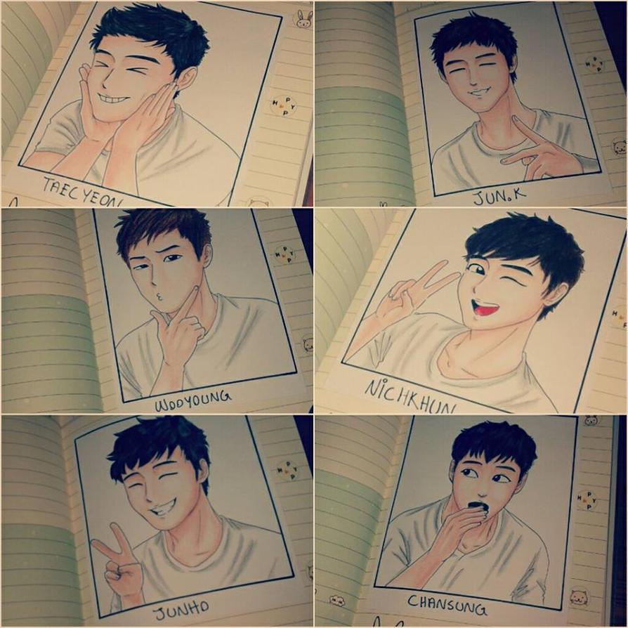 Happy 5th Anniversary 2PM! by Vespa-kid