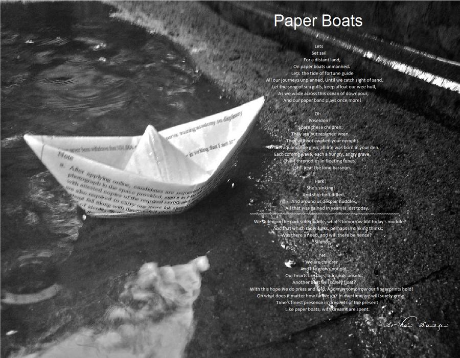 Paper Boats by Zark123