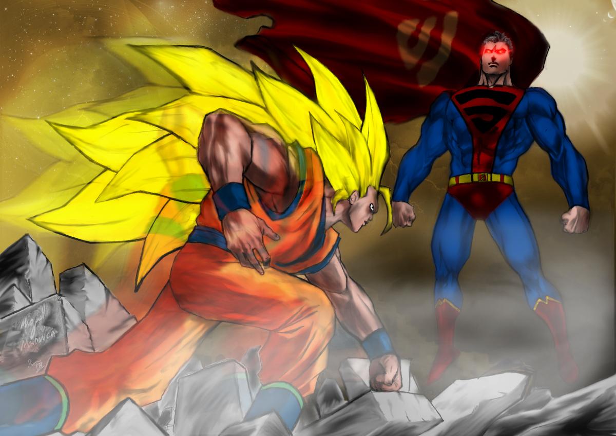 goku ssj3 vs superman - photo #18