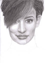 Fashion Pencil Portrait by SuGaRLesSCaNdY