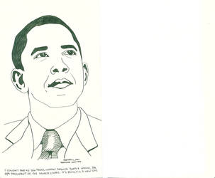 President Barack Obama by SuGaRLesSCaNdY