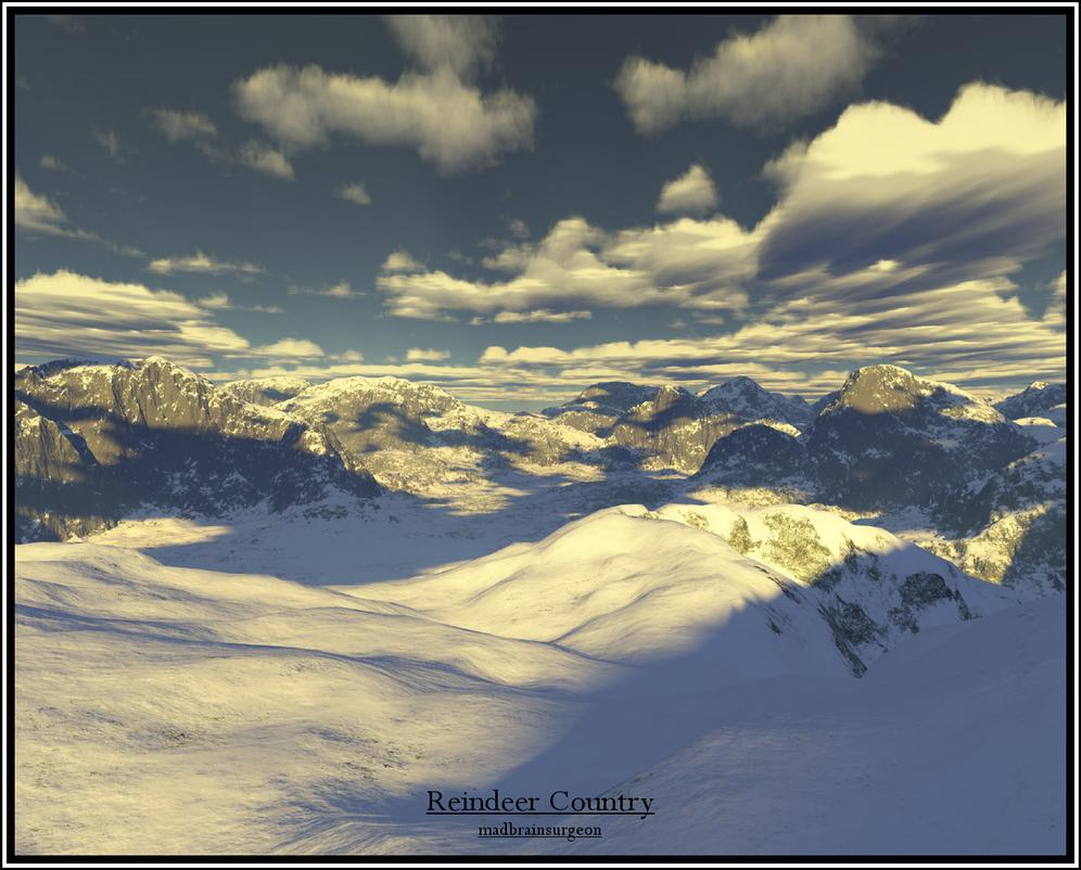 Reindeer Country by madbrainsurgeon