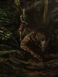 The Hunt by ABeardedArtist
