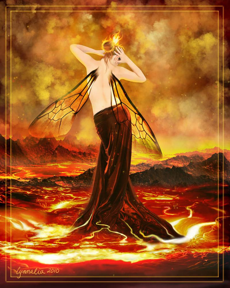 Fae Elementals: Fire by Cynnalia
