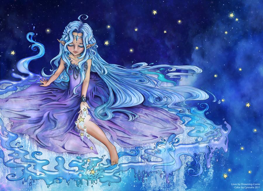 Milky Way by Cynnalia