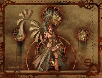 Steampunk Fierce by Cynnalia