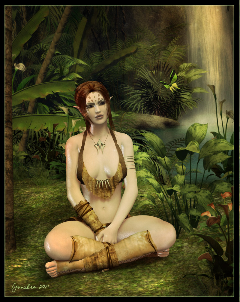 Jungle Beauty by Cynnalia