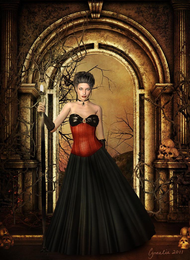 Black Widow II by Cynnalia