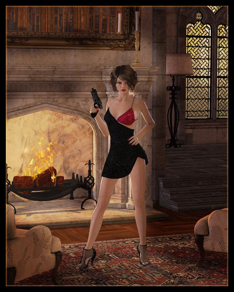 bb7e985e3 Femme Fatale by Cynnalia on DeviantArt