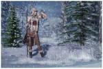 Snow Hunt by Cynnalia