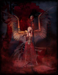 Summoning the Crimson Mist by Cynnalia