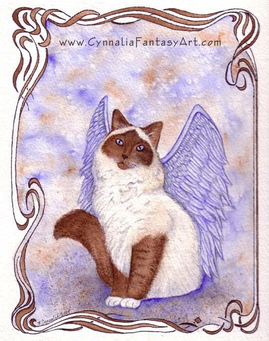 Purrfect Angel by Cynnalia