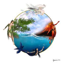 One World by Cynnalia