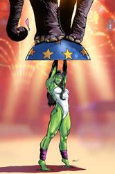 She-Hulk Pin-Up 2016 COLORS